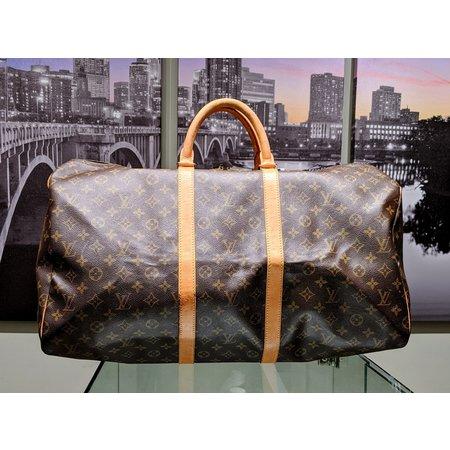 Handbag Louis Vuitton Keepall 55 M41424 Monogram Boston Bag 121040025