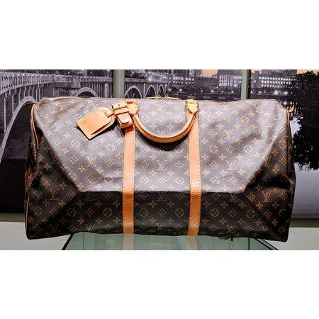 Handbag Louis Vuitton Keepall 60 Travel Bag Monogram M41422 121040024