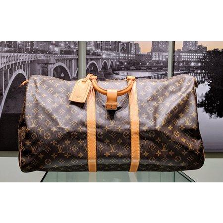 Handbag Louis Vuitton Monogram Keepall 55 M41424 Boston Bag 121040018