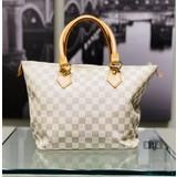 Handbag Louis Vuitton Damier Azur Saleya PM Tote 121040016