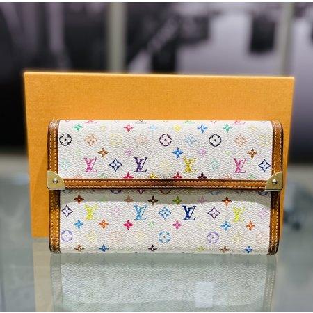HandbagLouis Vuitton Long Wallet Portefeuille Tresor InternationalBron M92659 121040054
