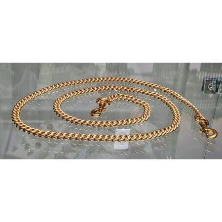 Handbag Chain Heritage Collection 9mm Matte Gold 110cm121040068