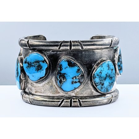 Bracelet Native American Turquoise Silver 121040193