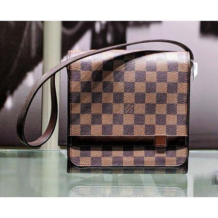 Handbag Louis Vuitton Mini Tribeca Brown Damier 121040190