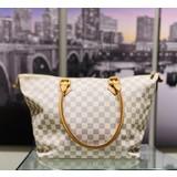 Handbags Louis Vuitton Azul Saleya MM N51185 Tote Bag 121040243