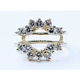 Ring Enhancer .90ctw Diamond 14ky Sz5.25 121040274
