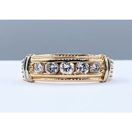 Marty Morales Ring .75ctw Diamond 14ky Sz10 221050002