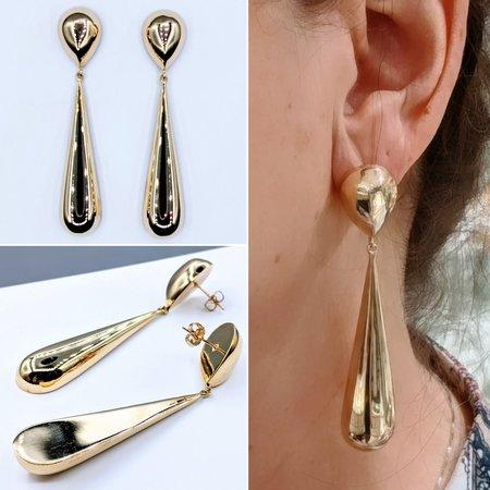 Earrings Dangle 14ky 121040262
