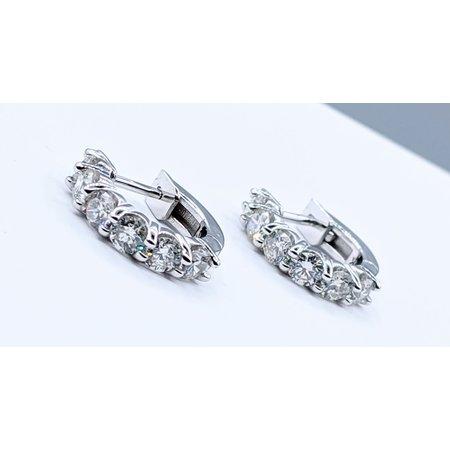 Earrings 1.55ctw Diamond 14kw 121050012