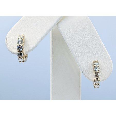 Earrings 1.12ctw Diamond 14ky 121050011