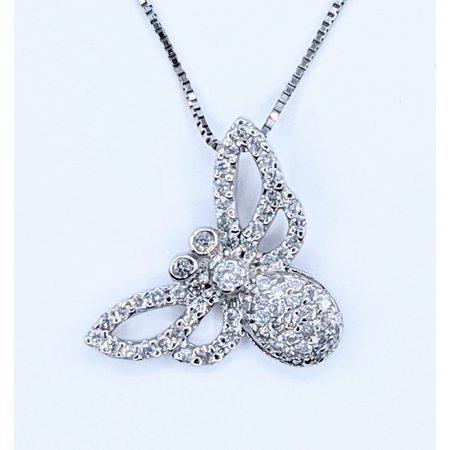 Butterfly .58ctw Diamond Platinum 121050056
