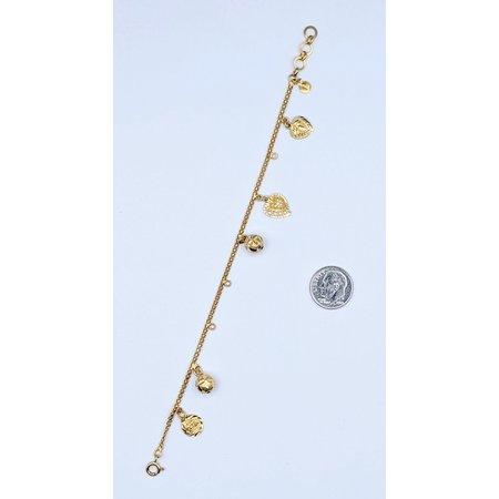 "Bracelet Charm 21k 7"" 121050091"
