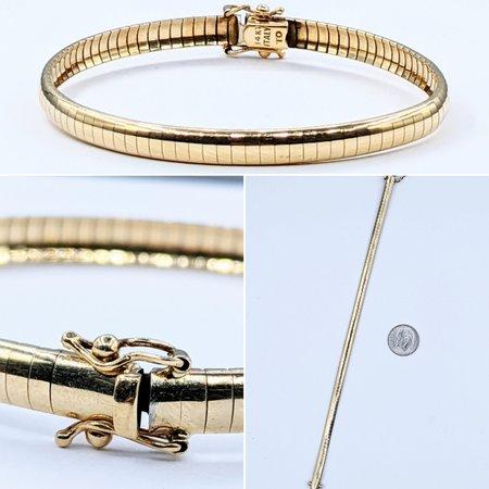 """Bracelet 5mm 14ky 7"""" 121050100"""
