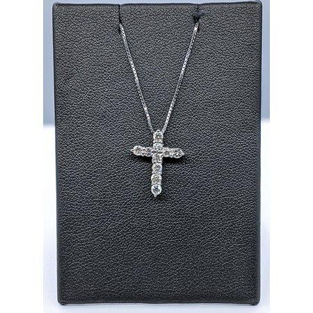 Cross .50ctw Diamond Platinum 121050053