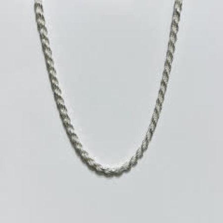 "Bracelet Rope-5.5-9 Silver 9"" 121050155"