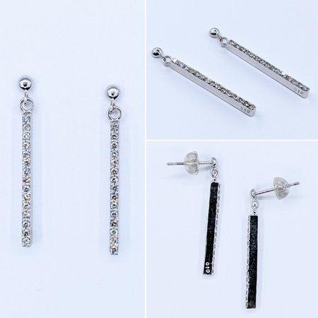 Earrings .20ctw Diamond 18kw 121050059