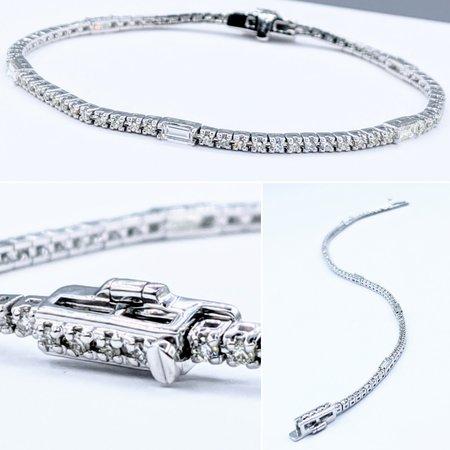 """Bracelet 1.5ctw Diamond 14kw 7"""" 121050268"""