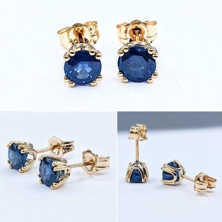 Earrings 14KY 1.32 CT SAPP 121060028