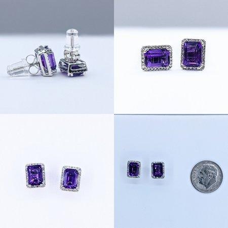 Earrings 14KW .18 DI 1.57. CT AME 121060059