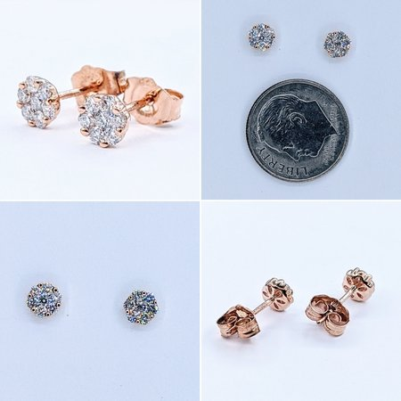 Earrings 14KY .24 DI TW 121060086