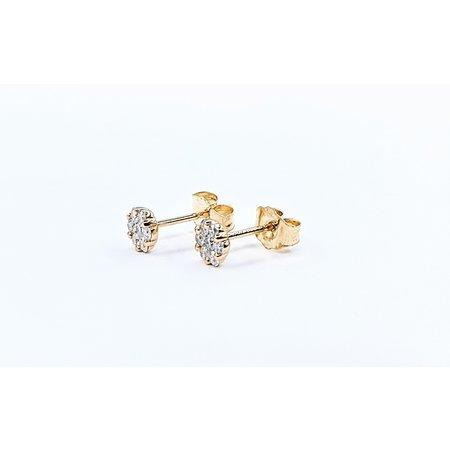 Earrings 14KY .24 DI TW 121060085