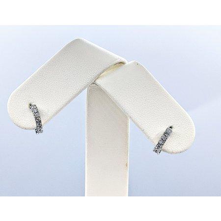 Earrings 14KW .19. DI TW (10MMRD DIAMETER ) 121060080
