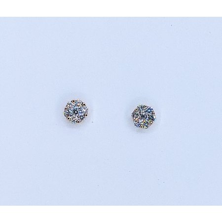 Earrings 14KR .24 DI TW 121060087