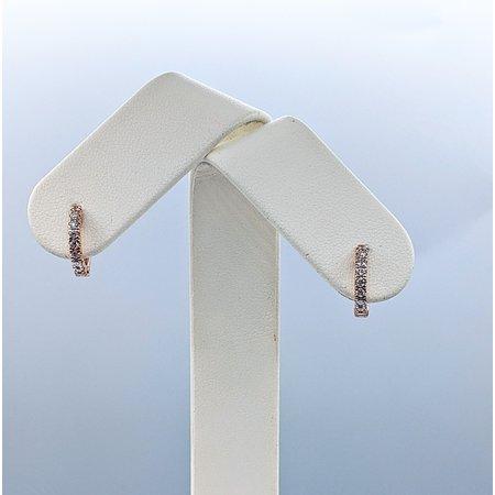 Earrings 14KR .24 DI TW 121060079