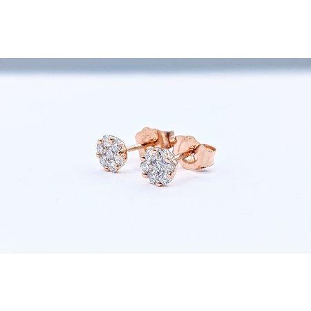 Earrings 14KR .24 DI TW 121060088
