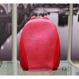 Handbag Louis Vuitton Mabillon Backpack Epi Leather Red M52237 121060262