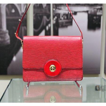 Handbag Louis Vuitton Epi Friedland Red M52407 121060284