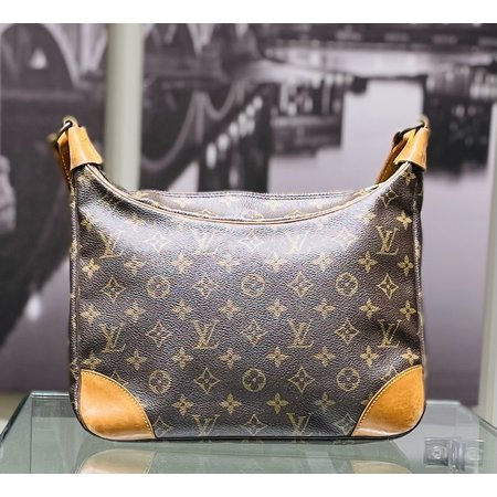 Handbag Louis Vuitton Boulogne 30 Shoulder Bag Monogram Leather M51265 121060286