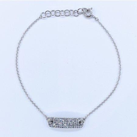 "Bracelet Diamond ID .50ctw Round Diamonds 14kw 7"" 221060014"