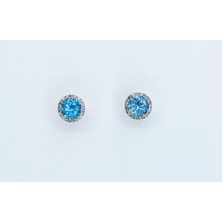 Earrings 14KW .15 DI 2.03 CT BT 121060041