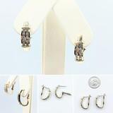 Earrings .60ctw Diamond 14ky 20x6mm 121060355