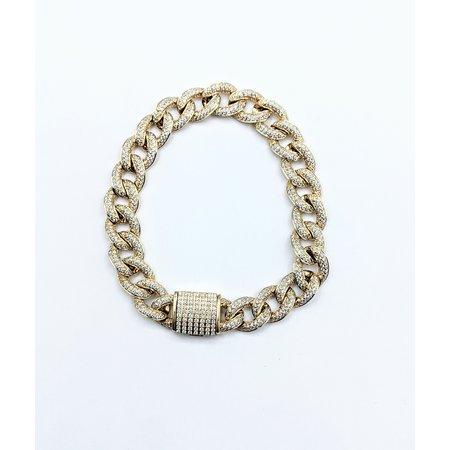 "Bracelet 5.50ctw Diamond 14ky 8"" 121060364"