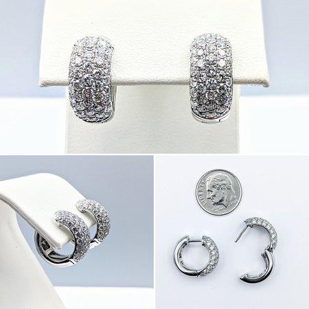 Earrings 1.95ctw Diamond 14kw 15.5x7.5mm 121060376
