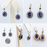 Earrings 14KY .73CT DI 3.83CT AMY 121060032