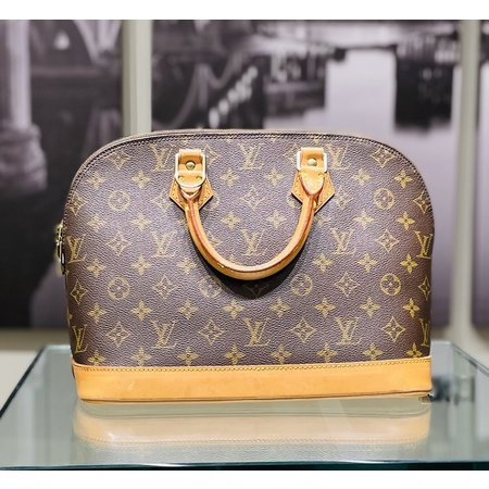 Handbag Louis Vuitton Alma M51130 Brown Monogram 121070009
