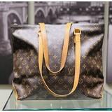 Handbag Louis Vuitton Cabas Mezzo M51151 Monogram 121070011