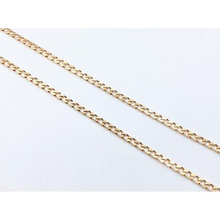 """Bracelet Curb Link 18ky 7.5"""" 121070097"""