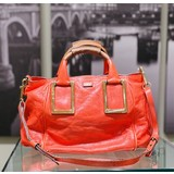 Handbag Chloe Hand Bag Red Leather 121070154