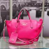 Handbag Gucci Swing Rose Leather 121070170