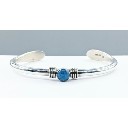 Bracelet Native American Cuff Turquoise Silver 121080059