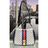 HandbagGucci Shoulder Bag Navy Blue Canvas121080051