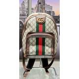 Handbag Gucci Backpack Canvas (Red/Green Stripe) 121080159