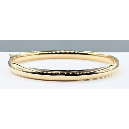 """Bracelet Bangle 6mm 14ky 19cm/7.5"""" 221090026"""