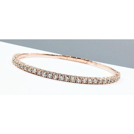 "Bracelet Flex 2.90ctw Diamonds 14kr 7"" 121090087"