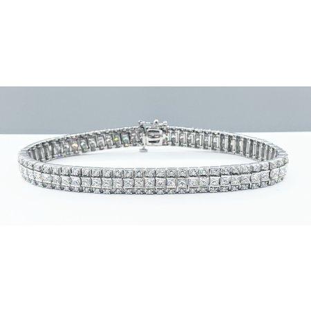 "Bracelet 7.00ctw Diamonds 14kw 7.5"" 121090071"