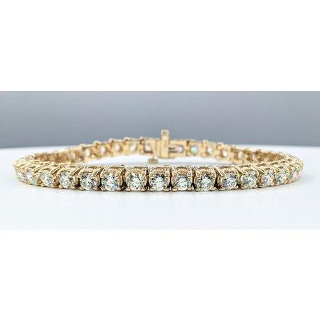 "Bracelet 5.00ctw Diamonds 14ky 7.5"" 121090072"